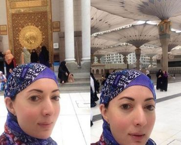 Sharmila Farooqi Performing Umrah