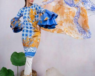Sana Safinaz Lawn Floral Eid Collection 2017