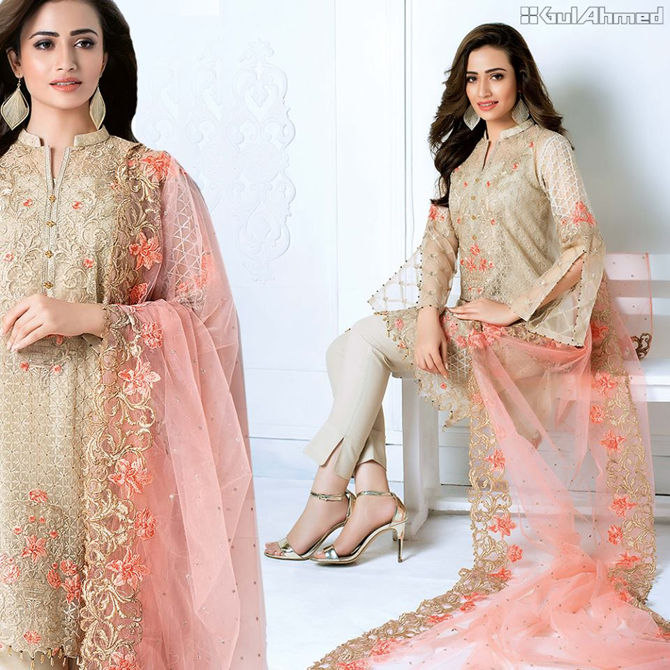 Gul Ahmed Summer Eid Collection 2017
