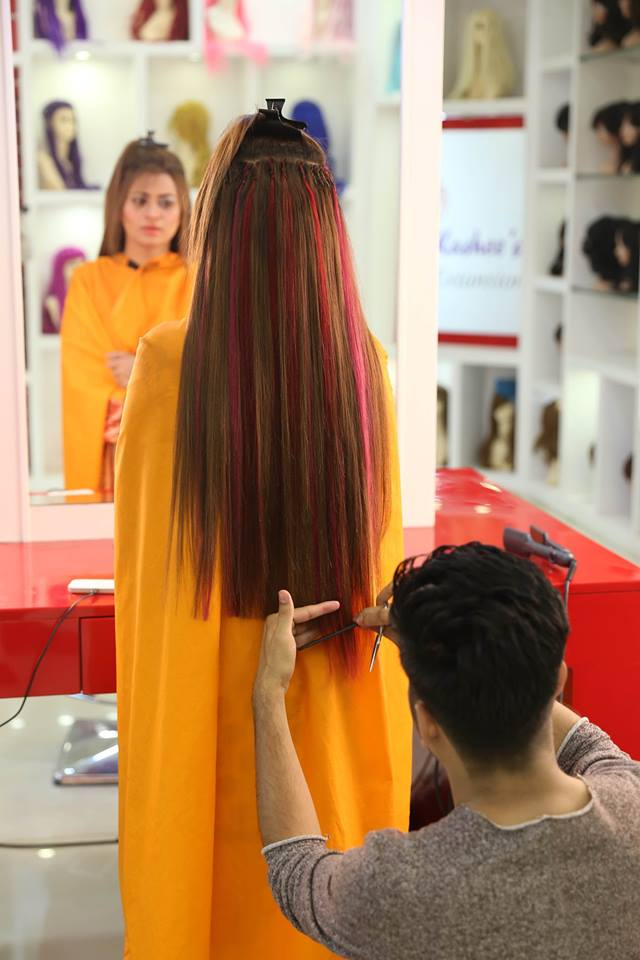 Kashee's – Artist Beauty Parlor permanent hair Extensions & coloring