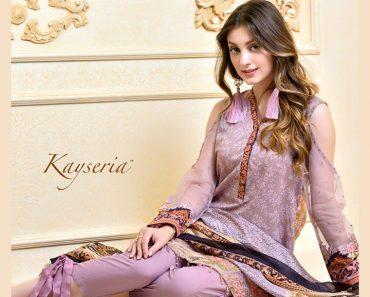 Kayseria Lawn Eid Sale Full Catalog 2017