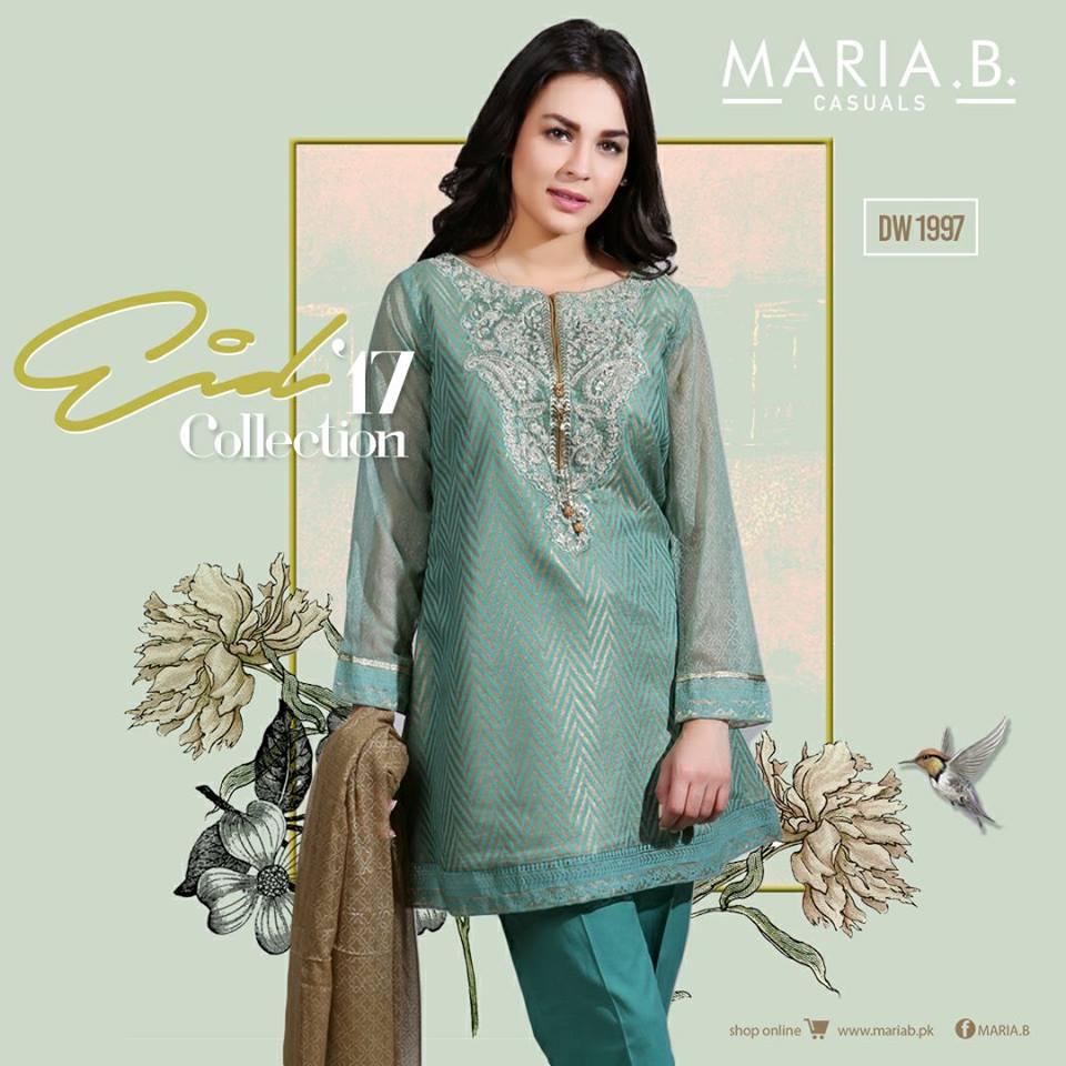 Maria B Designer Eid Stitched & Unstitched Lawn collection 2017