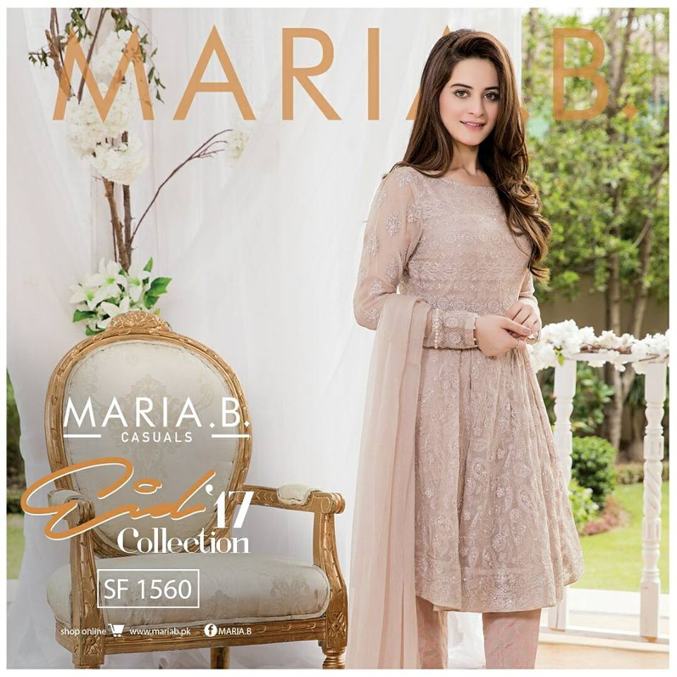 a7ae39bc7 Maria B Eid Designs Unstitched, Stitched Casual & Party Wear