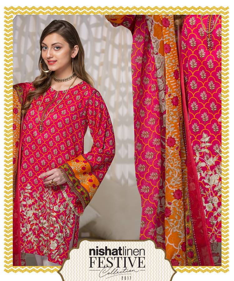 eid collection by nishat Nishat linen eid collection designs 2017 for women nishat linen eid collection 2017 is the exclusive feature we will be showcasing today nishat mills limited stands as one of the most well equipped, modern and the largest textiles companies in pakistan.