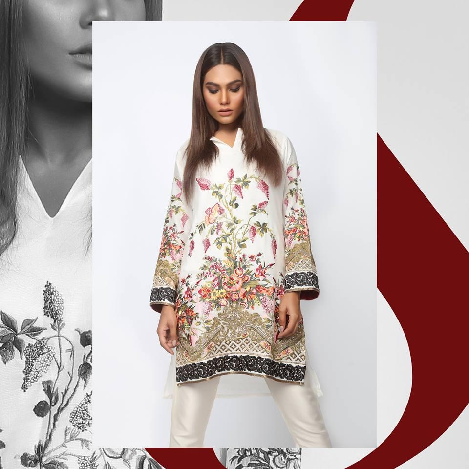 Sana Safinaz Luxury Lawn Eid Collection 2017