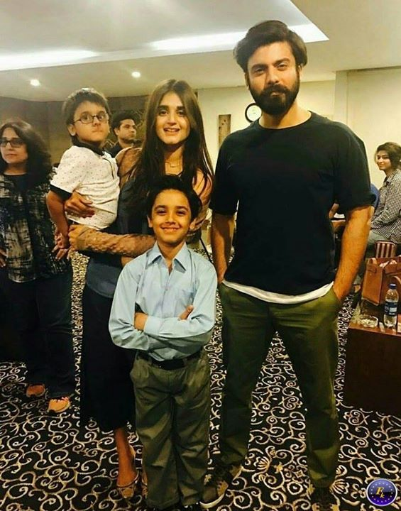 Fawad Khan With His Wife New look