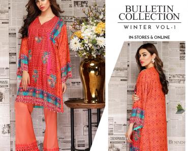 Warda Bulletin Collection Winter Vol-1