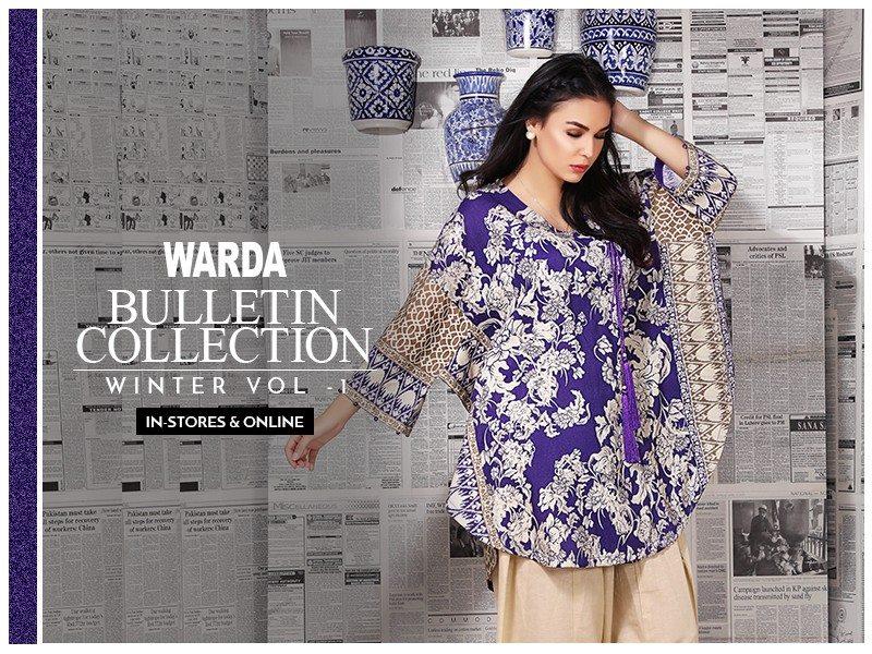 Warda Bulletin Collection Winter Vol-1Warda Bulletin Collection Winter Vol-1