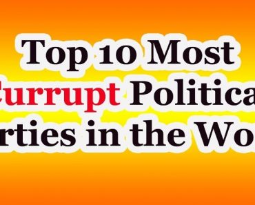 Top 10 most corrupt political party in the world