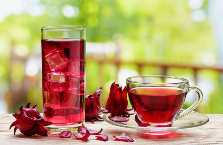 What are the benefits of hibiscus tea?
