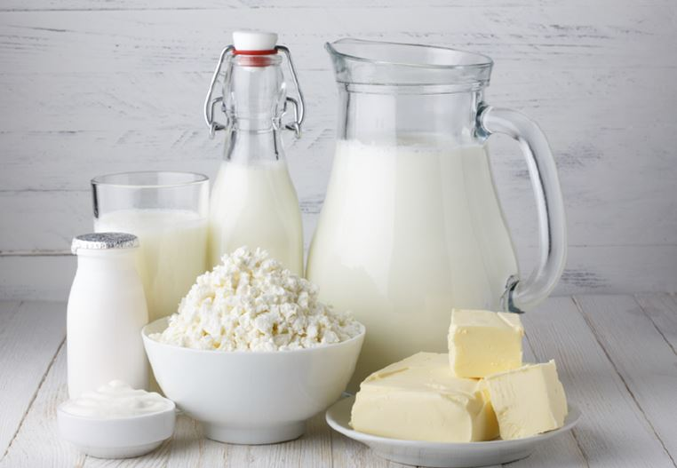 Which milk has the least fat?