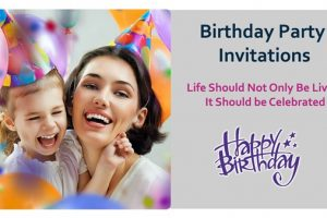 Birthday Party Invitations, watch me blow Candles!