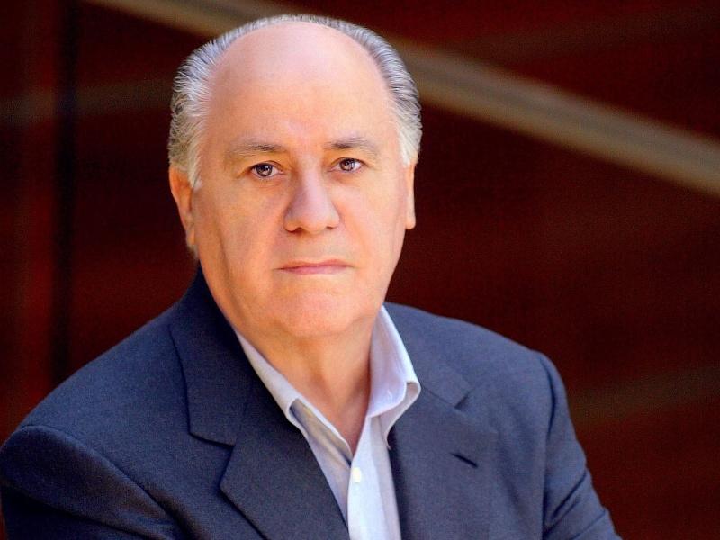 Celebrated Top 10 Wealthiest Person of the World Amacio Ortega
