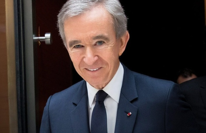 Famed 10 Ten Wealthiest Person Bernard Arnault Picture