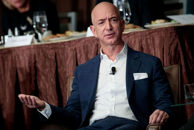 Celebrated Top 10 Wealthiest Person of the World Jeff Bezos Picture