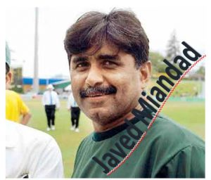 Top Ten Cricketer of Pakistan Javed Miandad