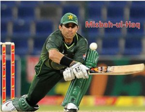 Top Ten Cricketer of Pakistan Mr. Misbah-ul-Haq