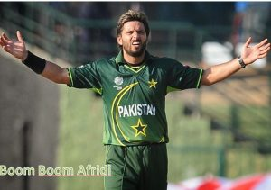Top Ten Greatest Cricketer of Pakistan Mr. Shahid Afridi