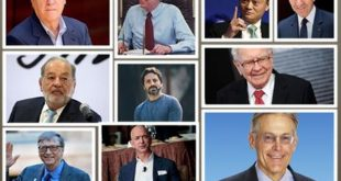Remarkable Top Ten Wealthiest Person of the World