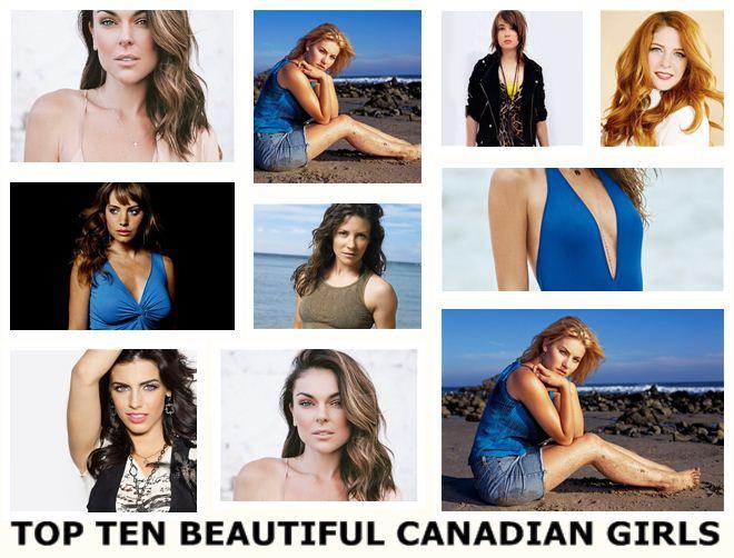Most Beautiful Top Ten Canadian Girls