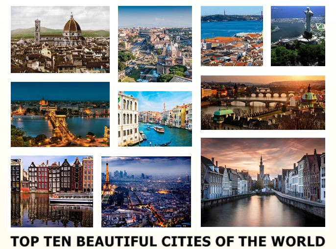 Dazzling Top Ten Beautiful Cities of the World