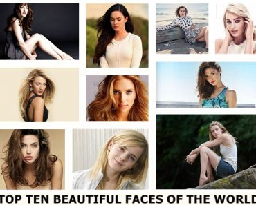 List Of The Top 20 Most Beautiful Faces in the World