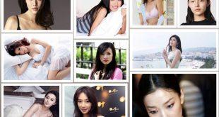 Best Ten Attractive Chinese Models