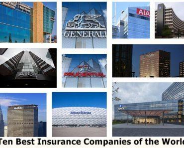 Ten Best Insurance Companies of the World