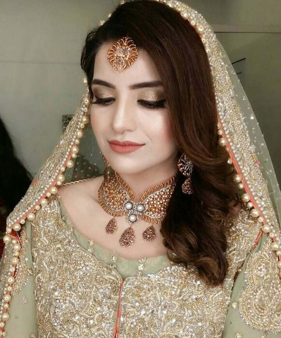 Latest Pakistani Bridal Makeup Perfect Look