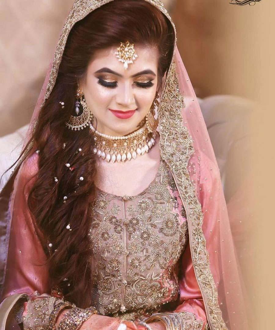 Pink Latest Pakistani Bridal Makeup