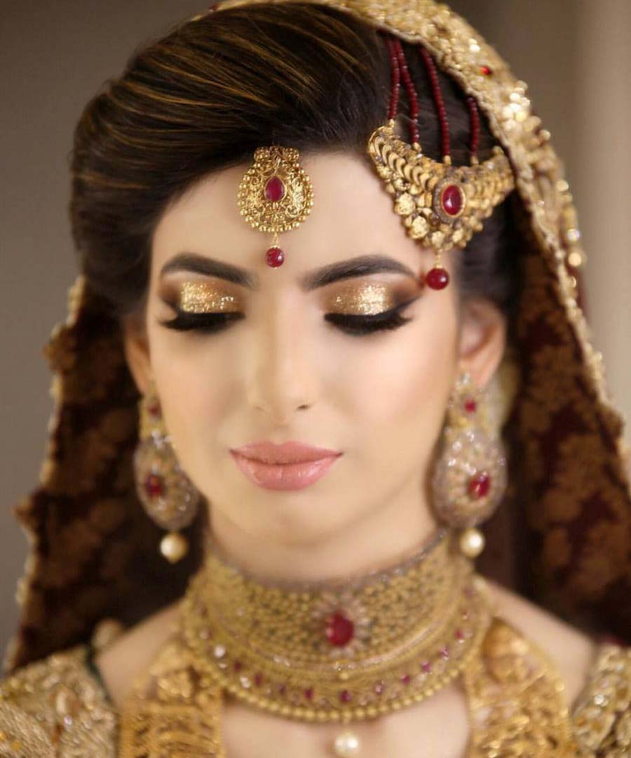 best Pakistani bridal makeup images