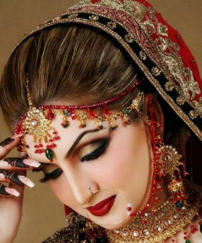 New Pakistani wedding makeup ideas Download