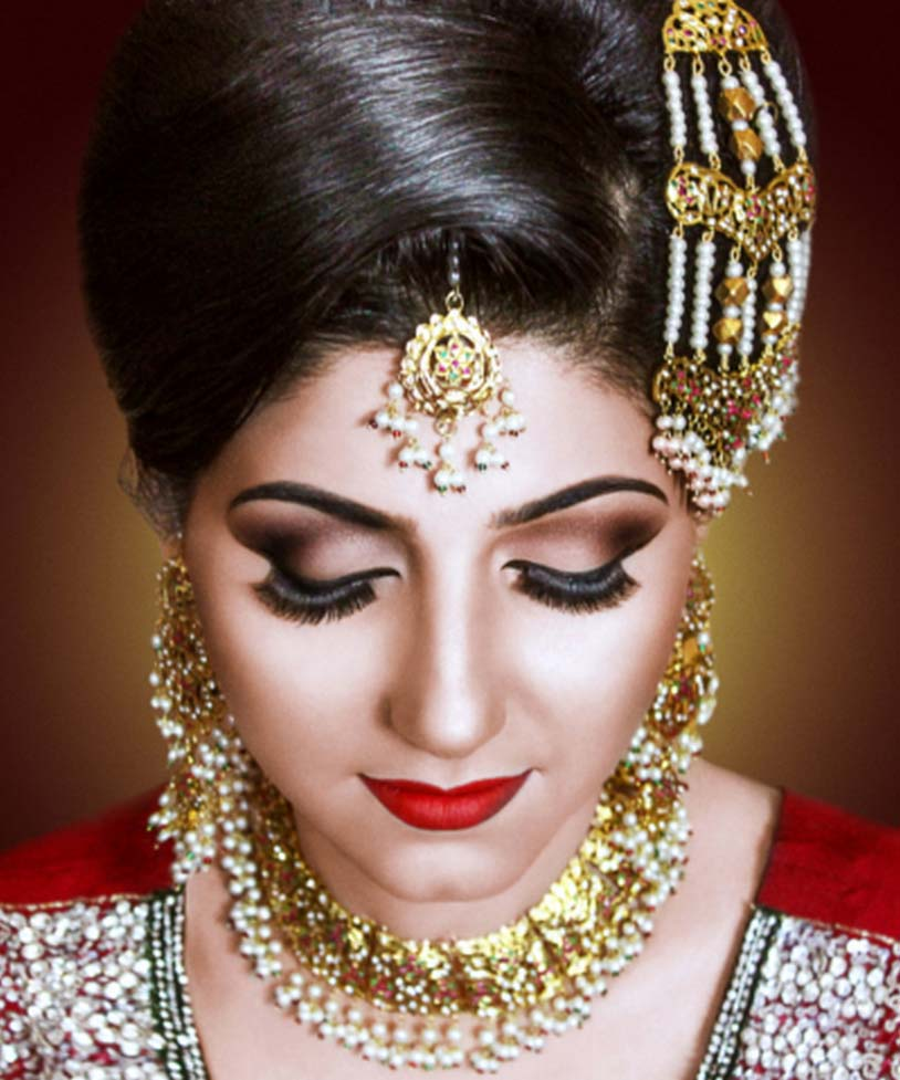 pics of pakistani bridal makeup HD