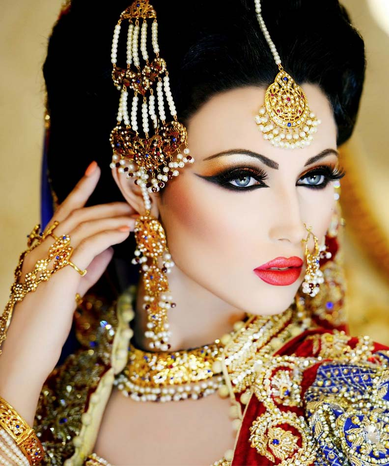 Pakistani bridal makeup artist ideas