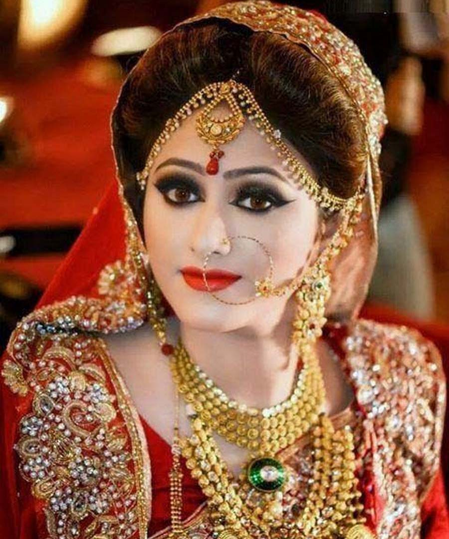 Latest Magnificent Pakistani Bridal Makeup for Wedding Day